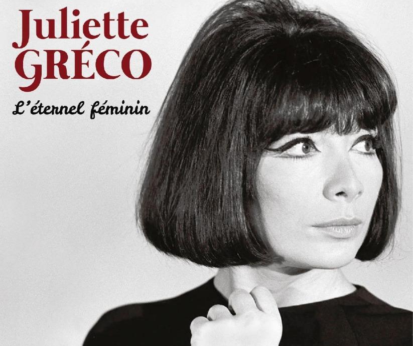 Juliette Greco sous le ciel de paris