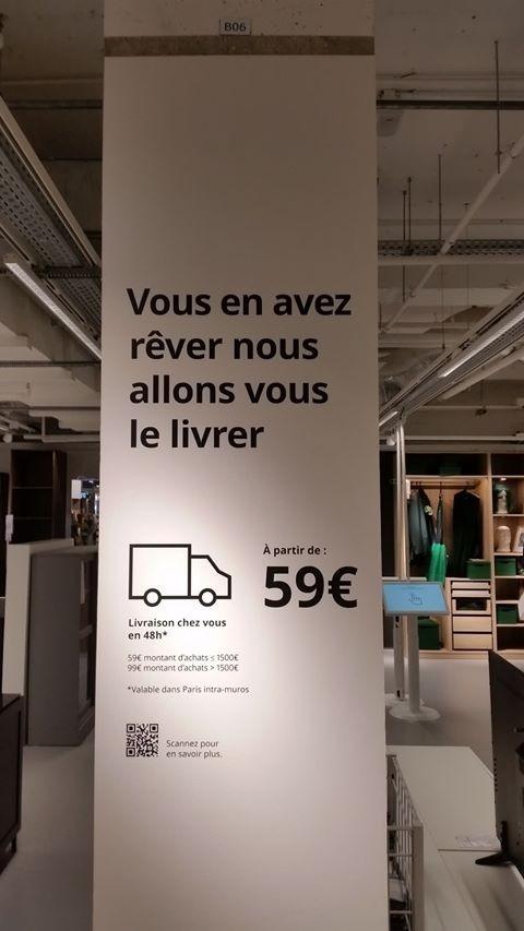 Fehler in der französischen Sprache IKEA