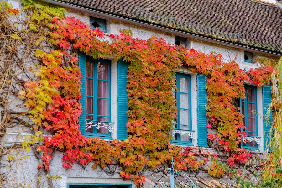 Vezelay Bourgogne Herbst