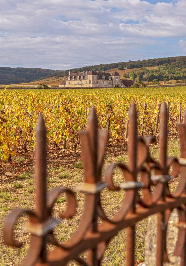 Clos de Vougeot Schloss im Burgund