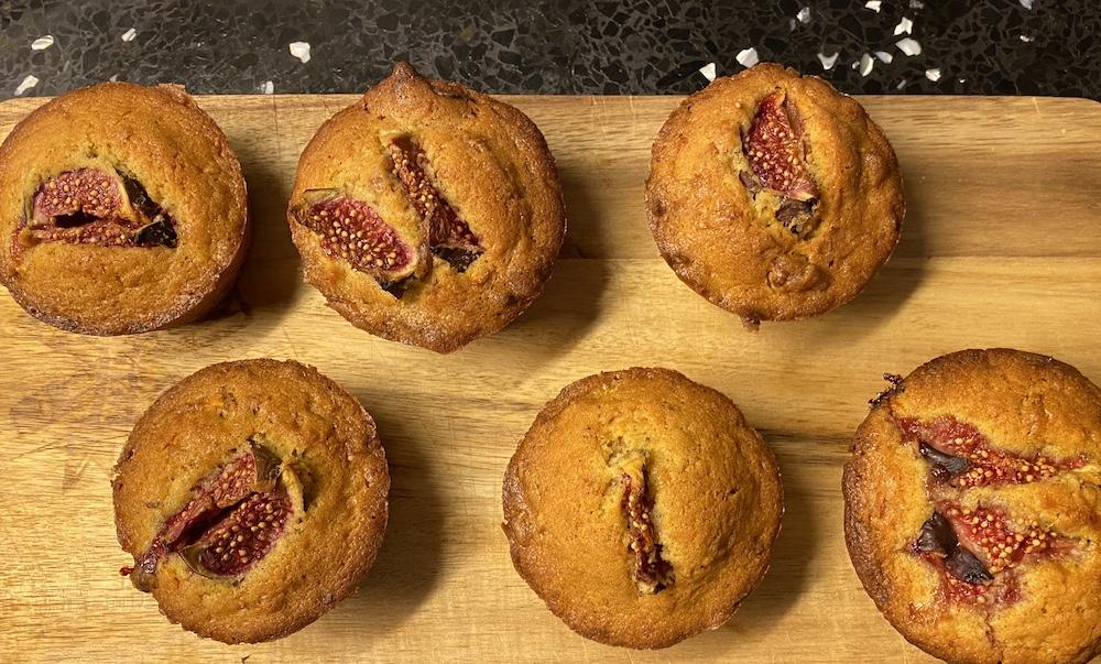 Karotten Walnuss Feigen Cupcakes Rezept