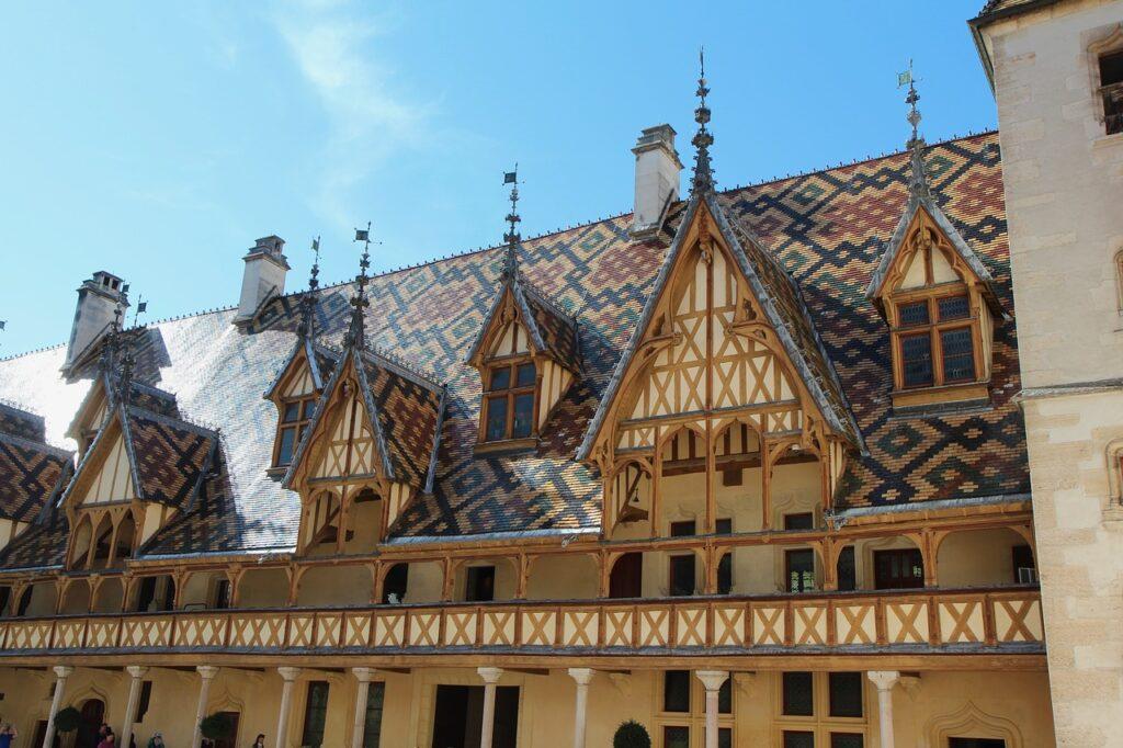 Hospice de Beaune Bourgogne Herbst
