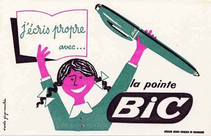 Der Kugelschreiber französische Erfindungen  BIC