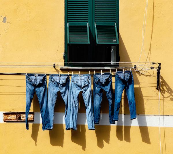 französische Erfindungen Jeans de Nimes