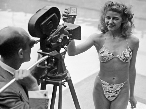 französische Erfindungen  Bikini