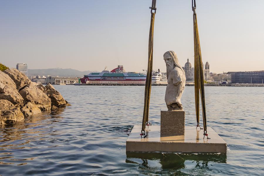Neues Unterwasser-Museum in Marseille