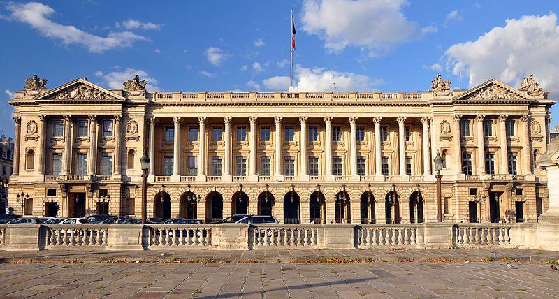 Hotel de la Marine in Parijs