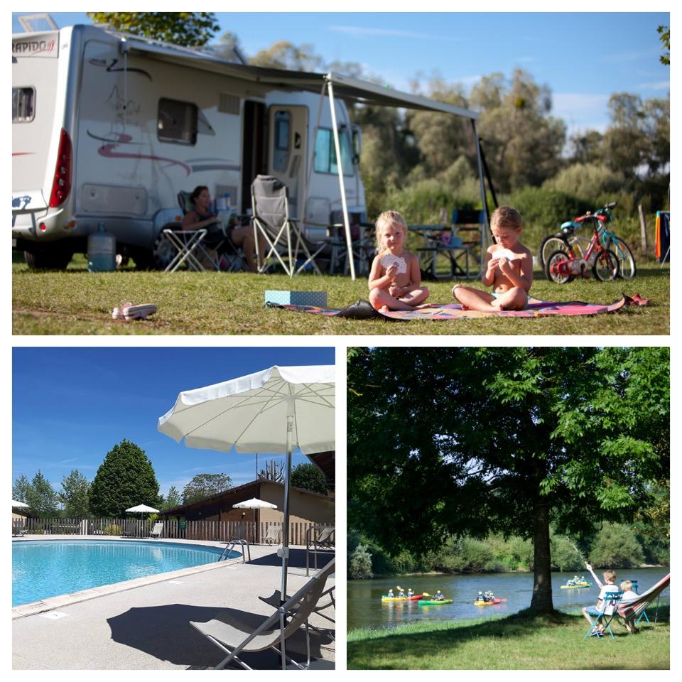Huttopia Camping La Plage Blanche Jura