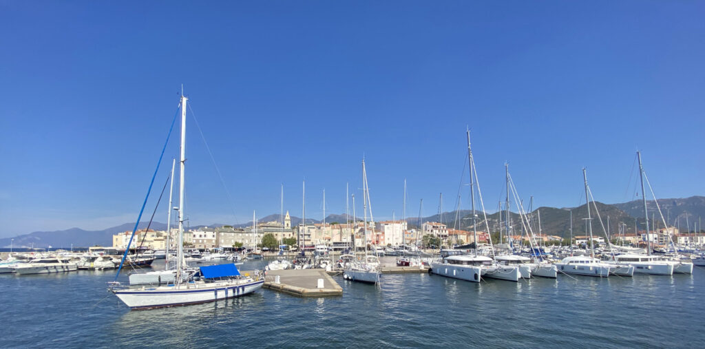 Radfahren Korsika Cap Corse Saint Florent