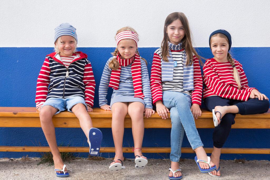 Bretonischen Streifen shirts und sweaters Kinder Breton Stripe