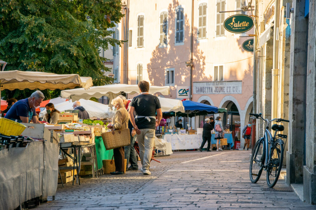 Cahort markt Lot Tourisme