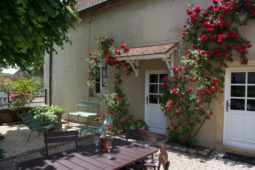 Clos Laraison Burgund Ferienhaus