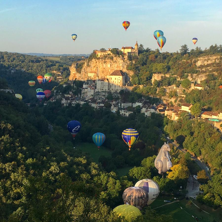 Rocamadour Montgolfiades Lot Tourisme