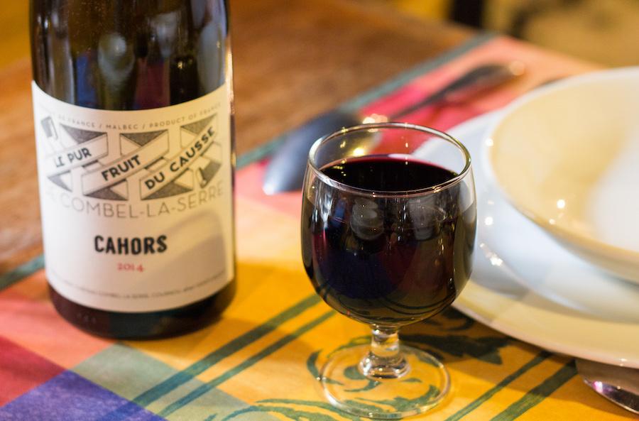 Vin restaurant Malbec Lot