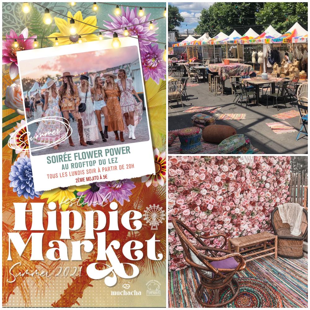 Hippie Market Montpellier Marché du Lez